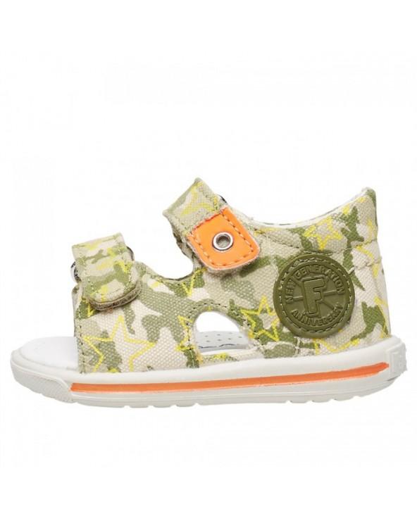 Sandalo in denim