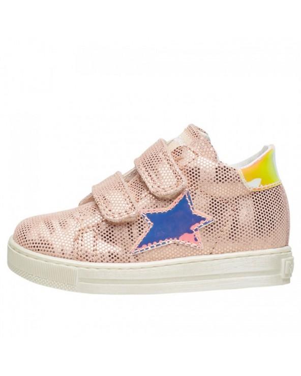 Falcotto sasha - sneaker glitterata con patch st